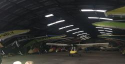 Gliders and private planes