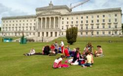 Home education visit to Stormont
